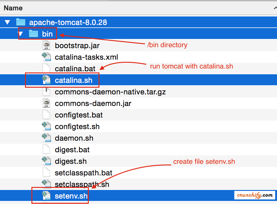 How to Change JVM Heap Setting (-Xms -Xmx) of Tomcat